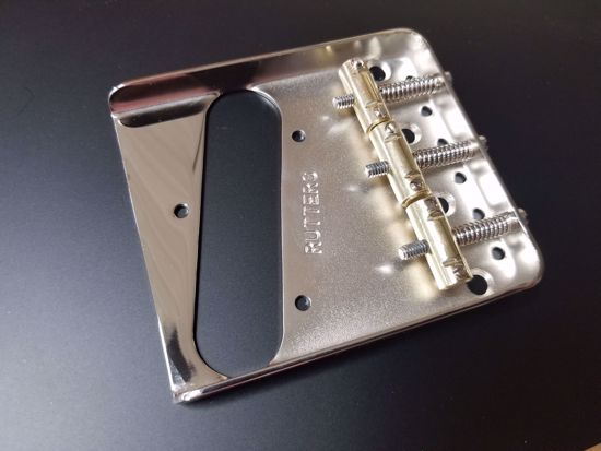 Picture of Rutters Vintage Stamped Bridge, Chrome Plate
